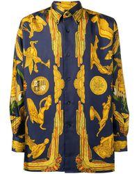 Hermès 1990s Pre-owned Hermes Shirt - Blue