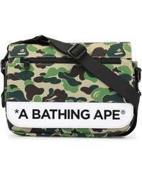 A Bathing Ape カモフラージュ ショルダーバッグ - グリーン