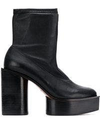 Clergerie Bonnie プラットフォーム ブーツ - ブラック