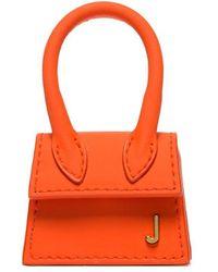 Jacquemus Мини-сумка Le Chiquita - Оранжевый
