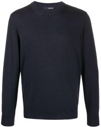 Lardini クルーネック セーター - ブルー