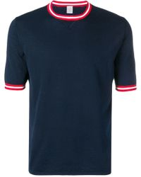 Eleventy - コントラストトリム Tシャツ - Lyst
