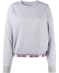 Moschino ロゴ スウェットシャツ - グレー