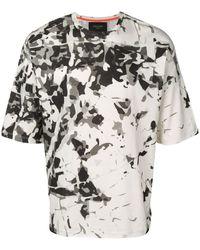 Mr & Mrs Italy Camouflage Print T-shirt - White
