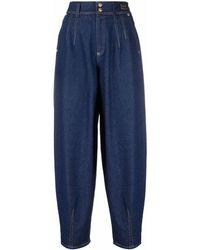 Versace Jeans Couture バギージーンズ - ブルー