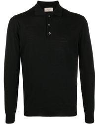 Altea ニット ポロシャツ - ブラック