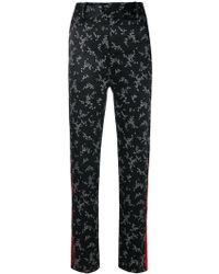 Equipment - Floral Print Trousers - Lyst