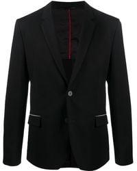 HUGO Fitted Single-breasted Blazer - Black