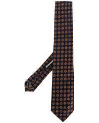 DSquared² - Floral Embroidered Tie - Lyst
