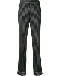 Golden Goose Deluxe Brand Pinstriped Tailored Trousers - Синий