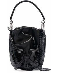 Innerraum Bolso shopper con panel en contraste - Negro