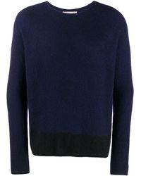 Suzusan Pullover mit Rundhalsausschnitt - Blau