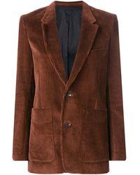 AMI シングルジャケット - ブラウン
