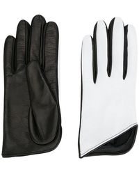 Manokhi - Bicolour Gloves - Lyst