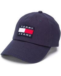 Tommy Hilfiger Honkbalpet Met Logo - Blauw