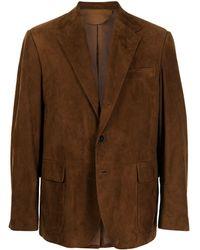 Polo Ralph Lauren スエードジャケット - ブラウン