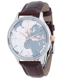 Cerruti 1881 - World Map Dial Watch - Lyst