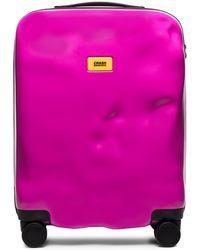 Crash Baggage Чемодан Icon - Розовый