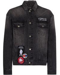 Ksubi Джинсовая Куртка Oh G Retox - Серый