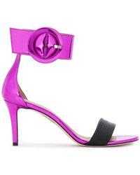 Marc Ellis - Oversized Side Buckle Sandals - Lyst