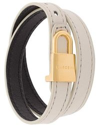 Buscemi - Padlock Bracelet - Lyst