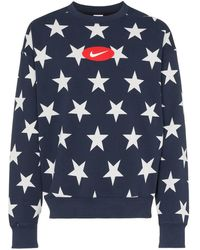 cba513f5 Nike - X Union Nrg Vault Aj Flight Crewneck Blue - Lyst · Nike - Nrg Stars  Fleece Sweatshirt - Lyst
