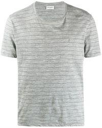 Saint Laurent - ストライプ Tシャツ - Lyst