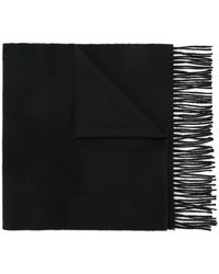 Gieves & Hawkes Classic Scarf - Black