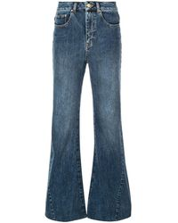 Co. Flared Jeans - Blue
