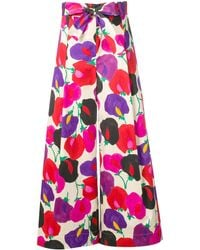 LaDoubleJ - Printed Balloon Trousers - Lyst