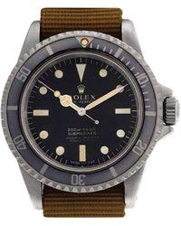 Rolex Reloj Submariner de 40mm - Negro