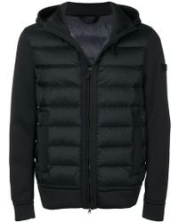 Peuterey - Panel Hooded Padded Jacket - Lyst