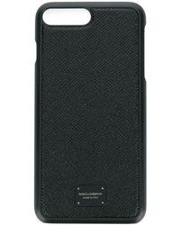 Dolce & Gabbana Чехол Для Iphone 6/7 Plus (s) С Логотипом - Черный