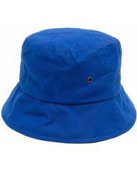 Mackintosh Sombrero de pescador encerado - Azul