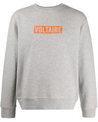Zadig & Voltaire Simba スウェットシャツ - グレー