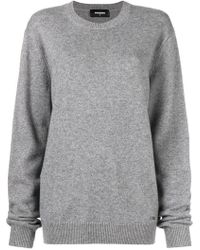 DSquared² - Oversized Sweater - Lyst