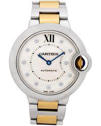Cartier 2010 バロン ブルー 33mm - メタリック