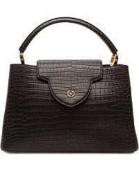 Louis Vuitton Bolso con asa en el tope - Negro