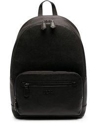 Polo Ralph Lauren レザー バックパック - ブラック
