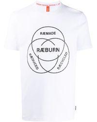 Raeburn Logo Print T-shirt - ホワイト