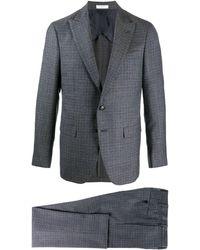 Boglioli シングルスーツ - ブルー