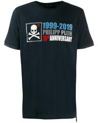 Philipp Plein Platinum Cut Anniversary 20th Tシャツ - マルチカラー