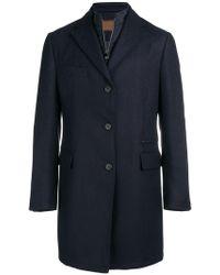 Corneliani - Tailored Coat - Lyst