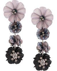 Mignonne Gavigan - Floral Drop Earrings - Lyst