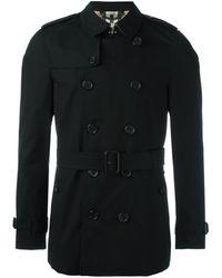 Burberry The Chelsea � Short Trench Coat - Zwart