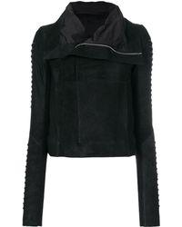 Rick Owens Forever Classic Biker Jacket - Black