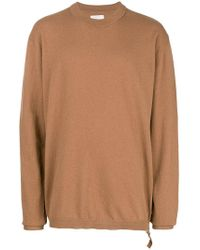 Laneus - Long Sleeved Sweater - Lyst