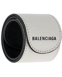 Balenciaga レザー ブレスレット - マルチカラー