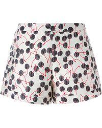 Giamba - Cherry Brocade Shorts - Lyst