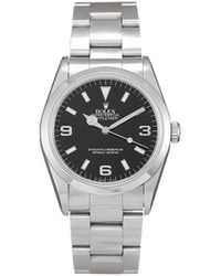Rolex Наручные Часы Explorer Ii Pre-owned 36 Мм 1996-го Года - Черный
